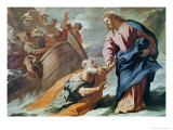 Jesus at the Sea Giclee Print by Luca Giordano