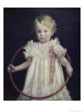 Girl with a Ring Giclee Print by Wladyslaw Podkowinski