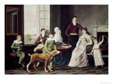 The Woolsey Family Giclee Print by William Berczy