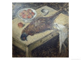 Faisan Sur Une Table Giclee Print by Gustave Loiseau