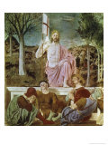 The Resurrection Giclee Print by  Piero della Francesca