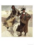 Typical Men of La Mancha Giclee Print by Joaquín Sorolla y Bastida