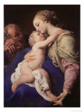 The Holy Family Premium Giclee Print by Pompeo Batoni