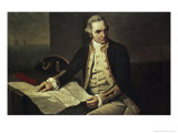 Captain James Cook Giclee Print by Nathaniel Dance Holland