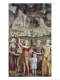 The Jews Praising God Giclee Print by Bernardino Luini
