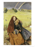 The Blind Girl Giclee Print by John Everett Millais
