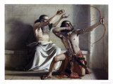 Joas Shoots the Arrow of Redemption Giclee Print by William Dyce