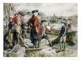 Abercrombie's Expedition to Ticonderoga Giclee Print by Frederick Coffay Yohn