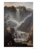The Falls of Terni Giclee Print by Claude Joseph Vernet