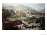 Roman Town at the Foot of the Alps Giclee Print by Octave Penguilly l'Haridon