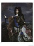 Louis XIV of France Giclee Print by Hyacinthe Rigaud