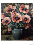 Poppies Giclee Print by Henry Rand
