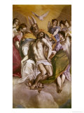 The Trinity Giclee Print by  El Greco