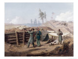 Sharpshooting, Petersburg, Virginia Giclee Print by Alfred Rudolf Waud