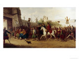 Fool's Parade Entering New Amsterdam Giclee Print by William Heath