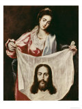 Veronica and the Holy Veil Giclee Print by  El Greco