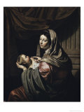 Madonna and Child Giclee Print by Jan Harmensz. Bylert
