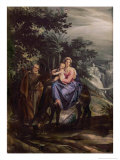 The Flight Into Egypt Giclee Print by Giuseppe Cesari Arpino