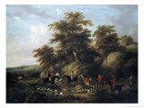 The End of the Hunt Giclee Print by George Morland