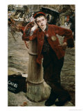 London Shoeshine Boy Giclee Print by Jules Bastien-Lepage