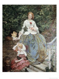 Stages of Cruelty Premium Giclee Print by Ford Madox Brown