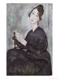 Portrait of Madame Mayden Giclee Print by Amedeo Modigliani