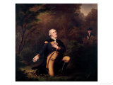 George Washington in Prayer at Valley Forge Giclee Print by Paul Weber
