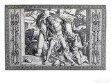 The Last Great Deed Giclee Print by Julius Schnorr von Carolsfeld