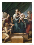 The Virgin of the Fish Reproduction procédé giclée par Raphael