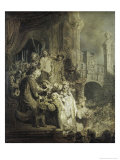 Christ Presented to the People Giclee Print by  Rembrandt van Rijn