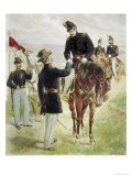 Cavalry and Dragoons Giclee Print by H.a. Ogden