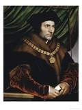 Sir Thomas More Giclée-Druck von Hans Holbein the Younger