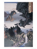 Mikawa Province, Horaiji Temple Giclee Print by Ando Hiroshige