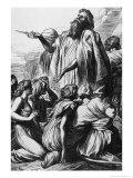Samuel Rescues Israel Giclee Print by George Frederick Watts
