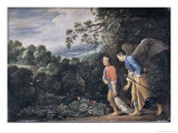 Tobias and the Angel Giclee Print by Adam Elsheimer