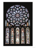 Rose Windows and Lancets Giclee Print
