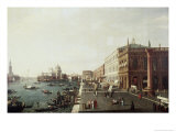 View of Molo in Venice, no.1 Giclee Print by Bernardo Bellotto
