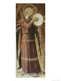 Angel with Tambourine Giclee Print by  Fra Angelico