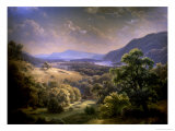 Summer Landscape, c. 1860 Giclee Print by Paul Weber