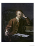 The Composer Handel Giclee Print by Philippe Mercier