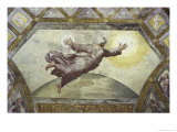 The Creation of the Sun and Moon Reproduction procédé giclée par  Raphael