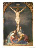 The Crucifixion Giclee Print by Anton Laurids Johannes Dorph