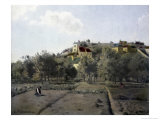 Pontoise Giclee Print by Camille Pissarro