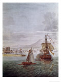 Port of Naples Giclee Print by  Vanvitelli (Gaspar van Wittel)