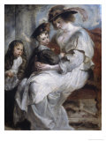 Helena Fourment and Children Giclee Print by Peter Paul Rubens
