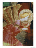 Detail of Angel of the Annunciation, c.1432-3 Giclée-Druck von Fra Angelico