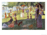 Sunday Afternoon on the Island of La Grande Jatte Giclee Print by Georges Seurat