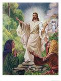 Jesus Has Risen Premium Giclee Print by Vittorio Bianchini