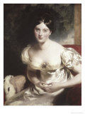 Margaret, Countess of Blessington Premium Giclee Print by Thomas Lawrence