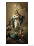 The Conception Giclee Print by Giovanni Battista Tiepolo